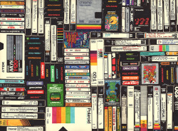 hollisbrownthornton:  Cassettes, VHS & Ataripermanent marker on paper 22 1/2 x 30 inches hbt13-p0012013