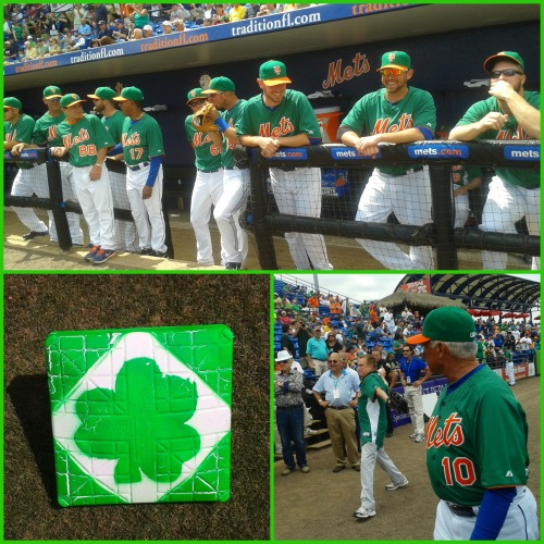 The Mets celebrate St. Patrick's Day at Tradition Field in Port St. Lucie. Even Regis stopped by!!