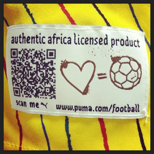 From a South African jersey. Presumably to be scanned before purchase, or by nosey (and short) strangers on the street.