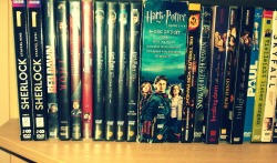 I'm so in love with my DVD collection :)