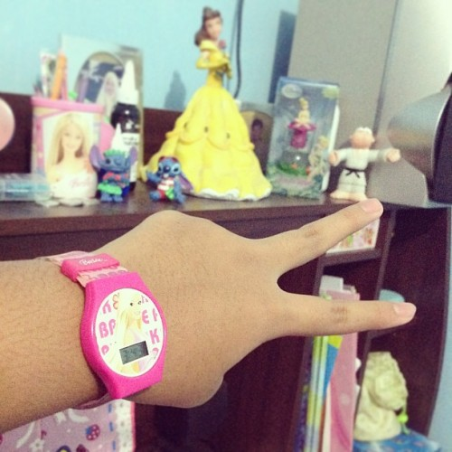 Barbie watch💓