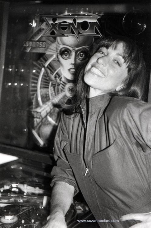 Suzanne Ciani, voice of Xenon, 1980 Via: arcadepenny