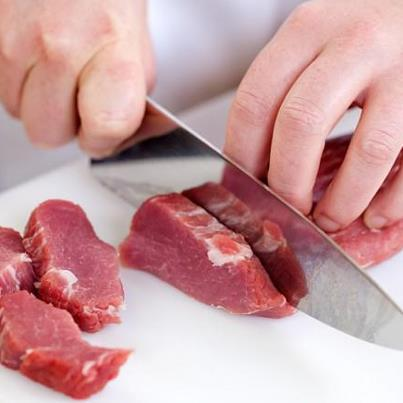 How Not to Mangle Your Meat when Portioning with a Chef's Knife: http://bit.ly/UBs3CO