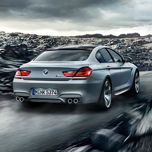 billidollarbaby:  BMW M6 Gran Coupe The M6 Gran Coupe packs a massive punch with a V8 TwinPower Turbo that packs 560 hp and a 0-62 time of just 4.2 seconds.