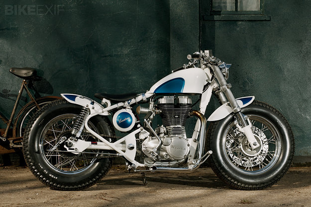 Royal Enfield Bobber Is it just me, or is everything about this build just right?! And for something different it's based on a 2009 Royal Enfield Bullet Electra, rather than an older restored bike.