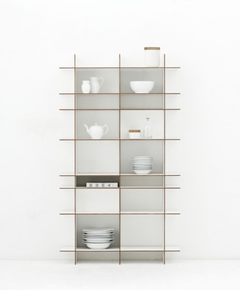 Tact shelving unit by Artefact Copenhagen