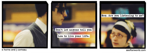 softerworld:  A Softer World: 968 (and get a haircut. a rebellious one.) buy this print