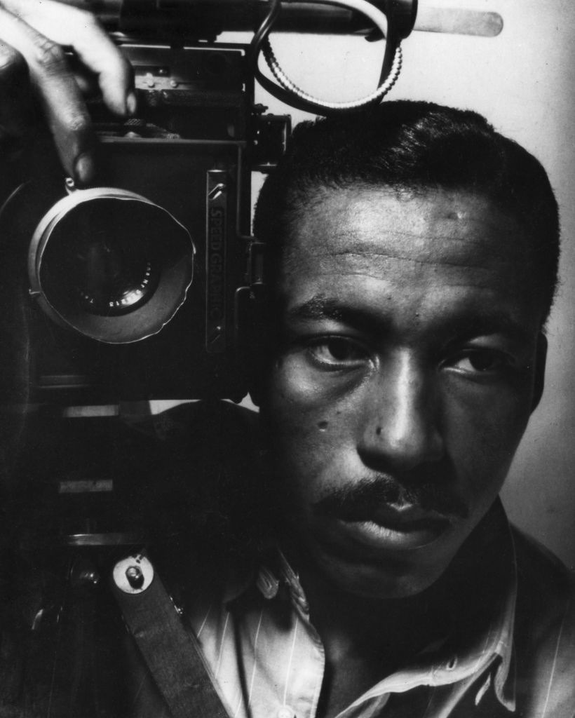 Gordon Parks, Self Portrait, 1945