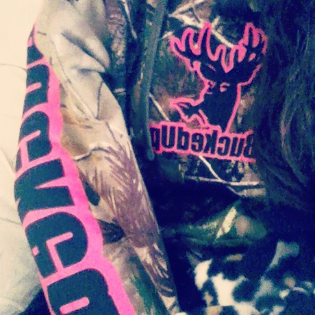 bootsandcamo11x:  New bucked up hoodie <3