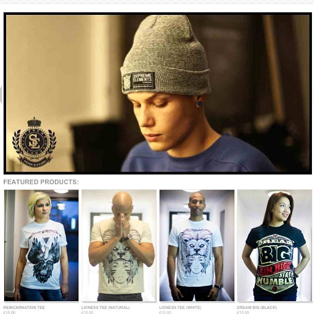 New tees out now. Check our website. www.se1clothing.com #swag #supremeelementsclothing #style #streetwear #clothing #fashion #london #urban #beanie #tshirts #new #release #popular #picoftheday #photooftheday #dream #big #aimhigh #stayhumble #iguk #igaddict