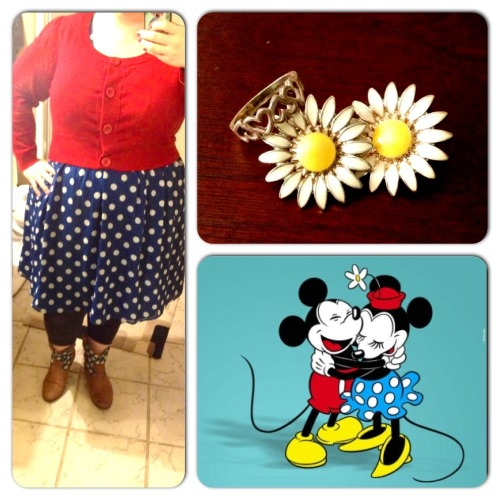 Yoo-hoo! Disneybounding today. <3