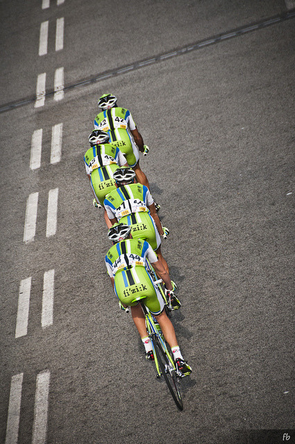 sa4:  Volta a Catalunya 2013 // green line by francescob82 on Flickr.