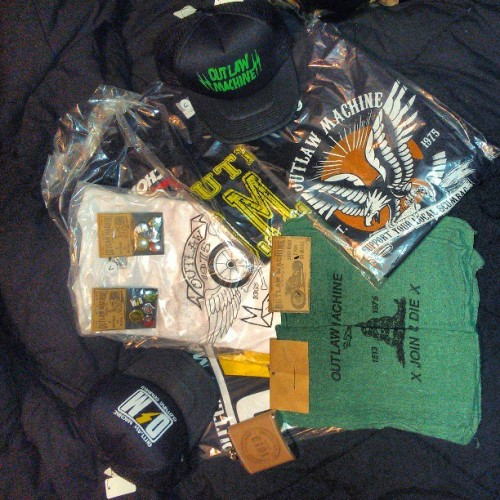 A great care package from Outlaw Machine  #outlawmachine @outlawmachine