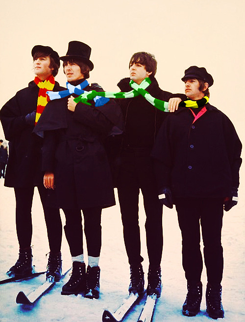 futurablack:  the beatles go to hogwarts and get sorted!!!