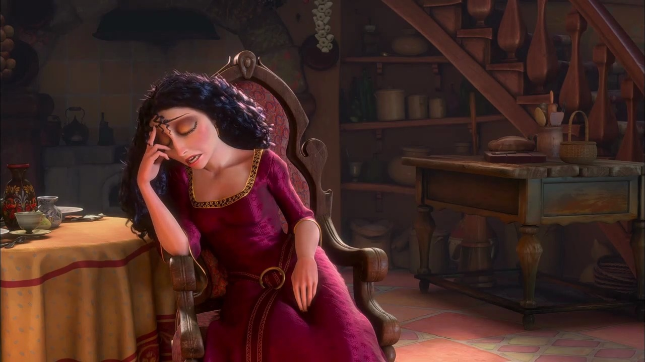 yourroyalpenis:  allthefandomfeelings:  disneymoviesandfacts:  Gothel's dress is from the Renaissance, which is 400 years before the time period of when the film takes place in the 1780s. This was in an effort to emphasis how Gothel and Rapunzel don't match up and how long Gothel had been living.  old as balls  Why the fuck do you think she turned to dust like five seconds after Flynn cut Rapunzel's hair? Hell yeah that bitch is old as balls