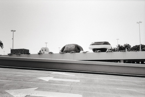 santa? // alamoana honolulu, HI // leica m4 - zeiss 35mm biogon - kodak 400tx it was definitely quite an odd sight - wonder what the kids thought
