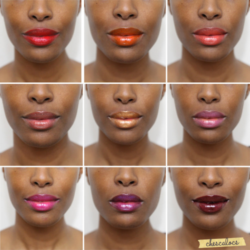 "chescaleigh:    Check out ""My Lipstick Story"" video (via Chescalocs)  Who says brown girls can't wear color?"