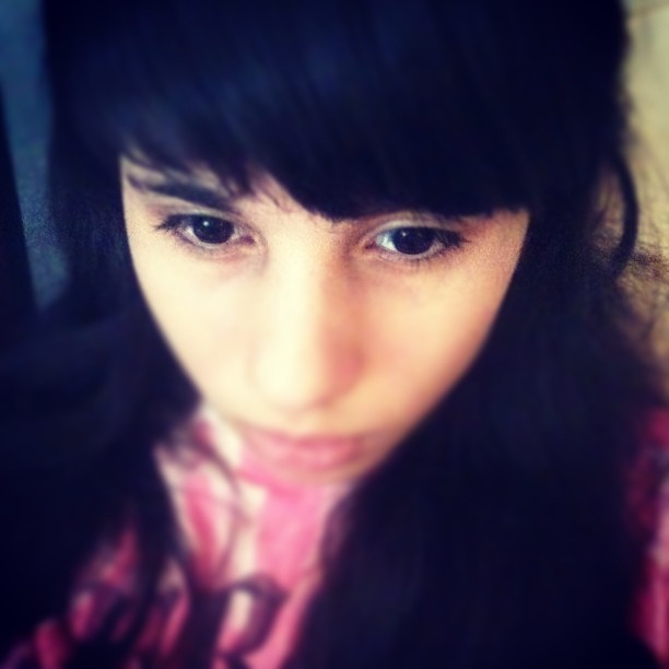 #me #sofa #pr #bored #face #eyes #pink #dark #brown #black #light #no #makeup #on #natural