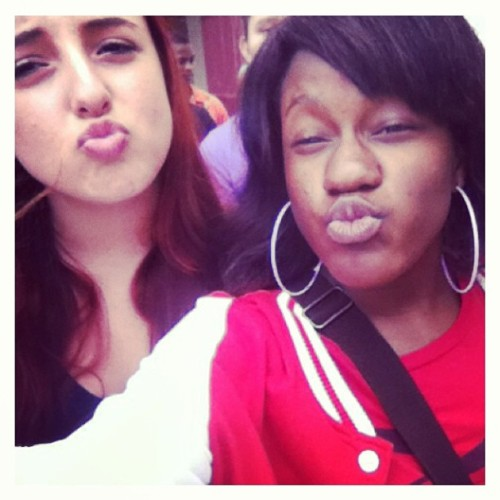 Was chillin with ma BooThanqq after lunch! @paytieloveslivia