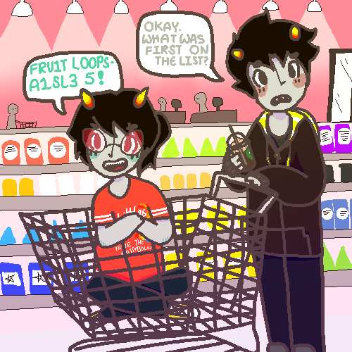 moustachebunnies:   ✧ • Day 8: Shopping • ✧