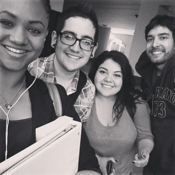 I've missed them! My Alphas. 💚 #alphas #bestfriends #instagram #friendship #love #gay #gayboy #socal #rcc #português #portuguese @beautifulceejay @dyala_meddine (at A.G. Paul Quadrangle)