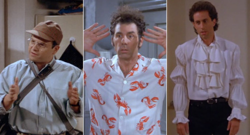 howtotalktogirlsatparties: Seinfeld's greatest fashion moments.
