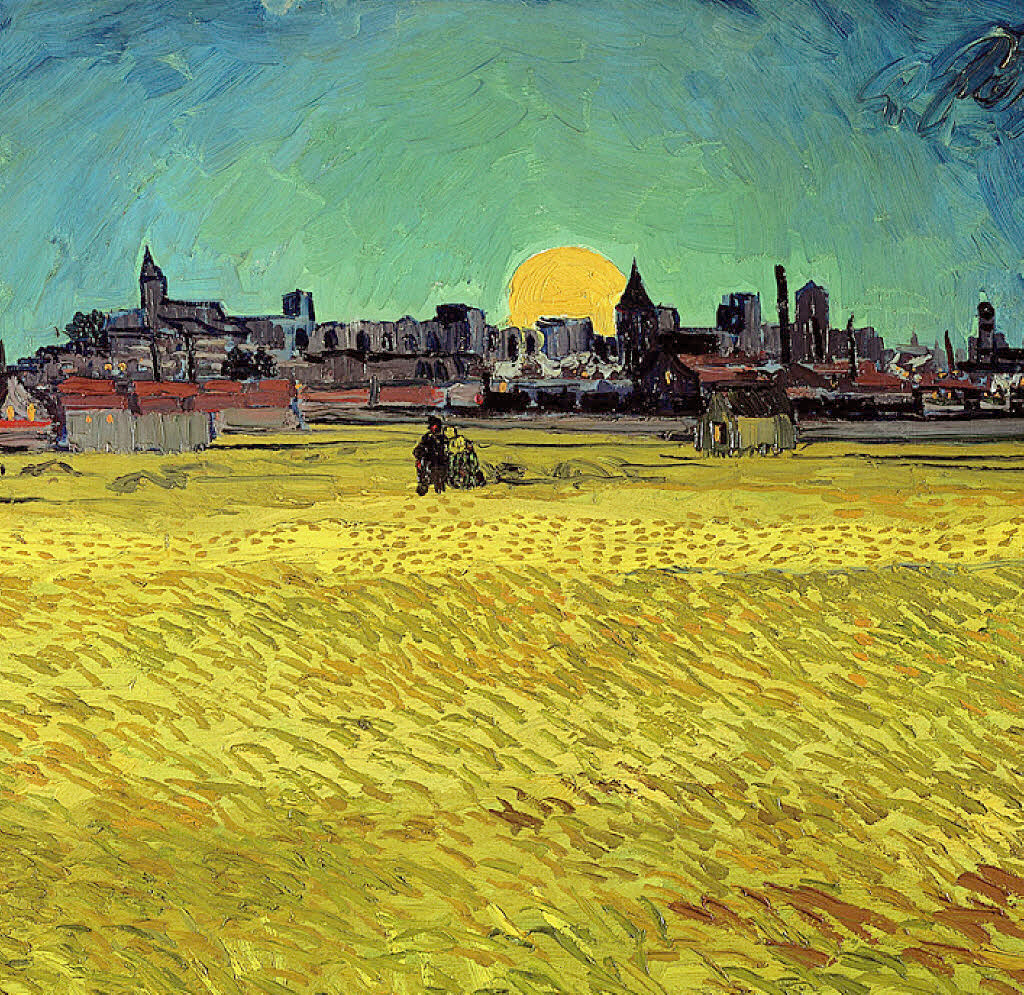 "tierradentro:  ""Summer's Evening"" (detail), 1888, Vincent van Gogh."