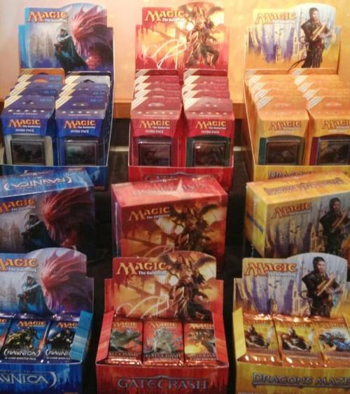 theartofmtg:  mtg-realm:  Magic: the Gathering -  B L O C K    P A R T Y  !  ! Block Party - Return to Ravnica / Gatecrash / Dragon's Maze  I CAN HAZ?!