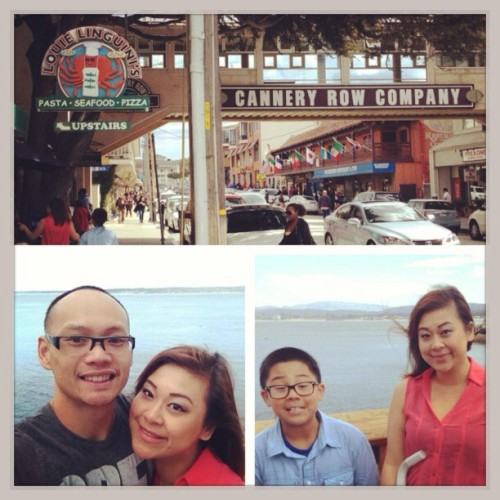 Family weekend at #canneryrow #easter #getaway (at Cannery Row)