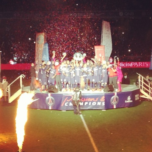 WE ARE CHAMPIONS!! #PSG #NICKBROAD