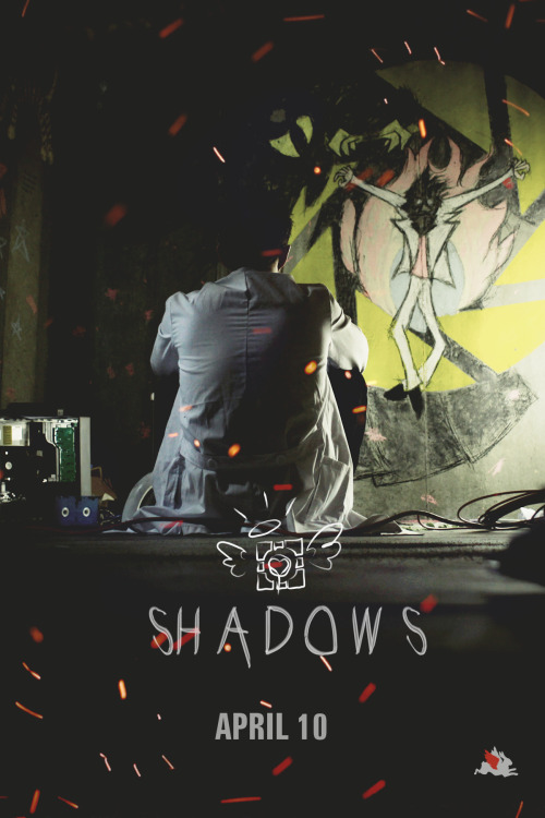 stillalivedoingscience:  syntheticph:  «><>.>Aperture: Shadows comes out THIS Wednesday, April 10th. Subscribe to SyntheticPH on Youtube to see it first! Teaser Trailer (x)  THE PAINTING THOUGH and two days, I cannot wait!