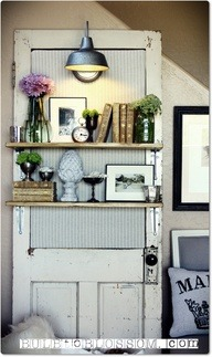 DIY: Reclaimed door  http://bit.ly/117NdOE  Didier🚶 Lahely
