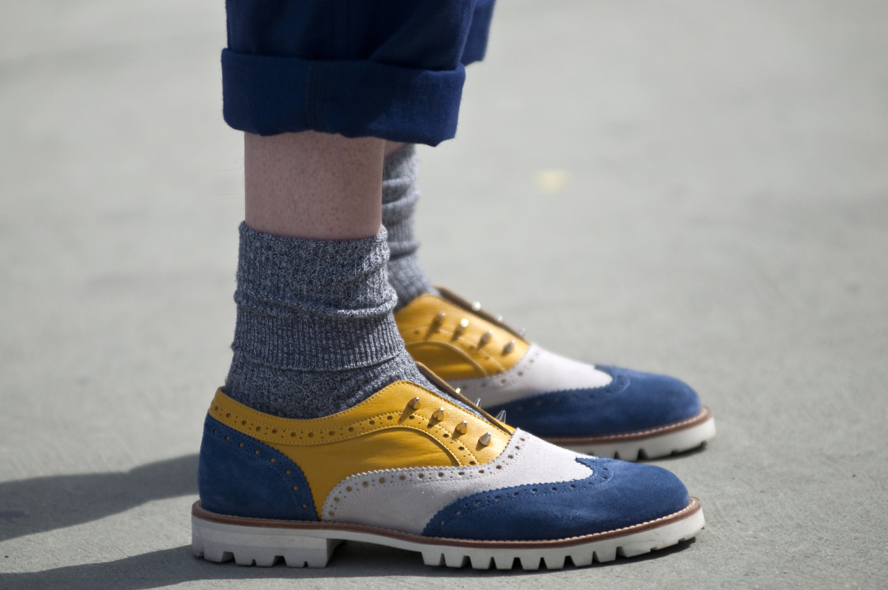guerreisms:  Sick Shoe Game  I want these… are they Mark McNairy?