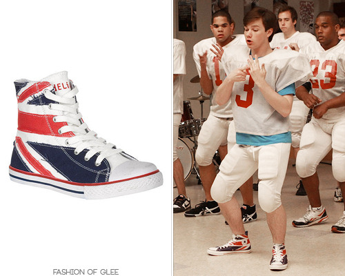 LOOK FOR LESS: Delia's Union Jack Hi Top Sneaker - $34.50 The Real Look: Converse sneakers
