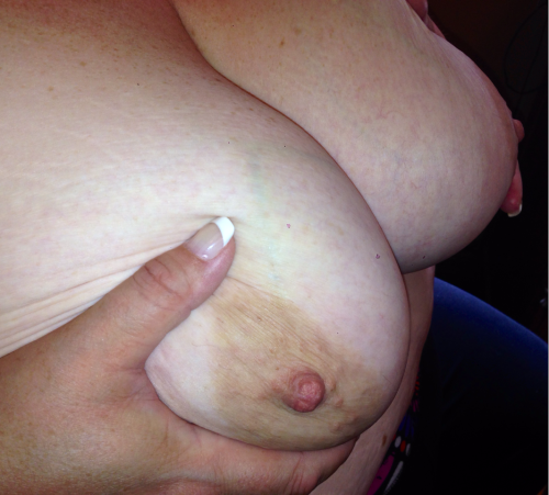 iluvbbws:  Who's hungry for my 46F cup boobs? Let me feed them to you!  Canadian BBW beauty looking to share with hung men while hubby watches and cleans up!