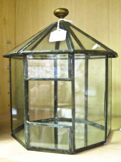 In Shop: Leaded Glass Indoor Garden Box £15