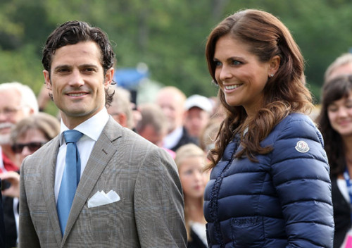 "Prince Carl Philip denies family fallout with Princess Madeleine over wedding Prince Carl Philip of Sweden has revealed that he is ""very saddened and outraged"" about rumours of a rift with his sister Princess Madeleine. There had been reports that Princess Madeleine had refused to invite the Prince's girlfriend, Sofia Hellqvist, to her wedding to Chris O'Neill, which takes place at the Royal Palace's church in Stockholm in less than three months time. The Prince and Sofia, who have been dating for three years, gave a rare, exclusive joint interview to Swedish newspaper Aftonbladet in which former model Sofia insisted that she had a warm relationship with the royal family. ""I have always felt welcome and well treated by Carl Philip's family,"" she said. ""It's sad the media has invented this drama because there has been none of that. Madeleine and I have a good relationship."" ""Obviously we are excited about the wedding,"" added Sofia. ""Chris has a great sense of humor and clearly makes Madeleine very happy."" Carl Philip's romance with Sofia has long intrigued royal followers since they started dating in 2010. The love affair was seemingly confirmed in July of that year when the Head of the Department of Communication moved to block the publication of the model posing naked. But their relationship has gone from strength to strength (wat?). In September 2010, Sofia moved in to the dashing prince's apartment, close to the royal palace in Stockholm, and along with Madeleine's fiance Chris, was invited to the christening held for Princess Estelle in May last year."