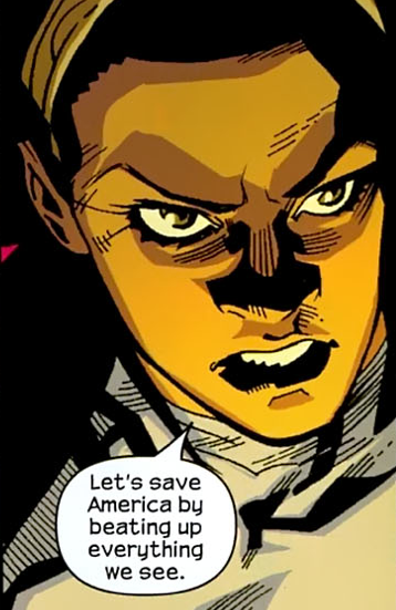 cheeseburgerdanvers:  monica rambeau, everybody