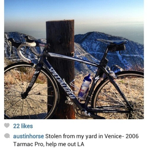 @austinhorse's bike got stolen! Keep an eye for this one? He's going back to NYC Friday!