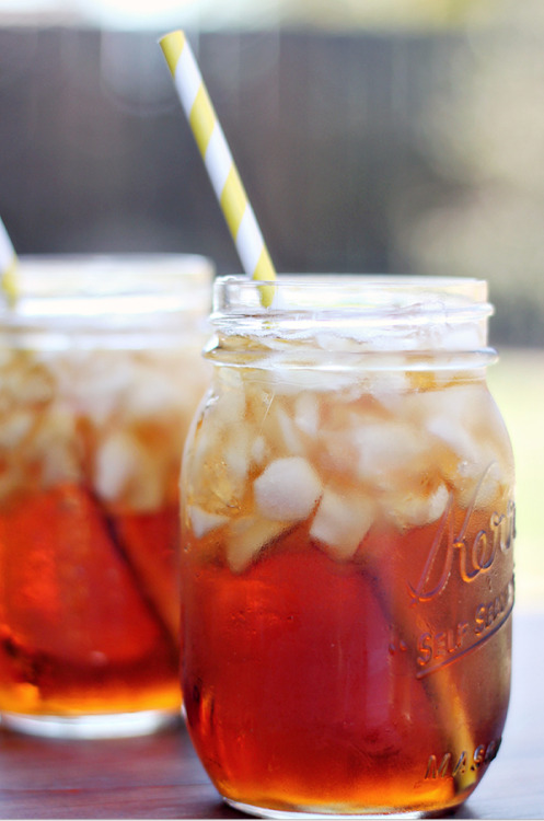 thecakebar:  Perfect Sweet Tea Recipe
