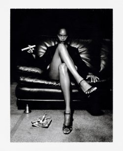 deadandstreet:  Power Staring You Right In The Face. By Helmut Newton.  favorite.