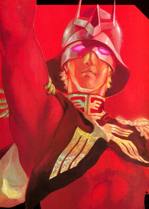 kinks3:  Char Aznable 安彦良和