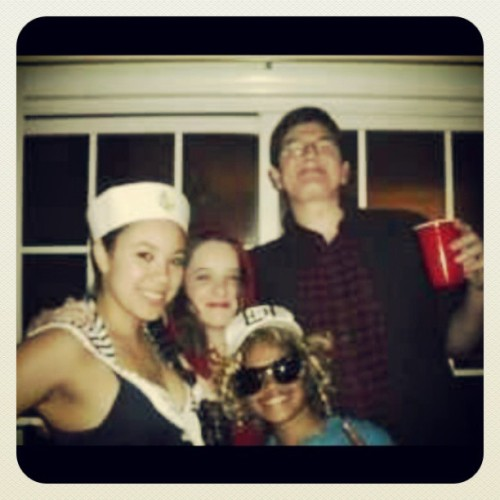 #tbt Last Halloween with my frans!  I was Justin Bieber? but this is the only picture of me with Keegan.  I'm gonna miss you, Keegan.  I wish things could have been more different but your at peace now above.  Inshallah.  RIP Keegan