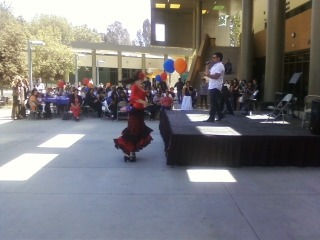 Armenian mixed culture festival at LAVC!