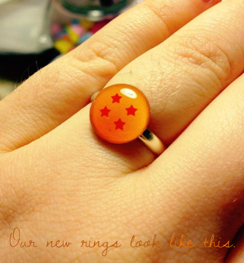 Adjustable Dragon Ball Ring sold by ocularfracture $7