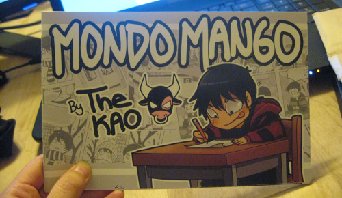 Look guys I finally made a Mondo Mango Booklet. Going to be selling them at Acen and maybe online if anyone wants to buy it. It has 16 of my MM comic strips.  Edit: I'm still in the process of making more copies and figuring out pricing and cost of shipping. So for anyone thinking about buying a copy online I'll most likely post a dA journal when I get everything in order and figured out)