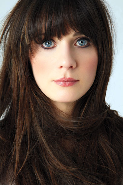 kokoloveschanelandcaramel:  Her eyes are just perfect - Zooey Deschanel.