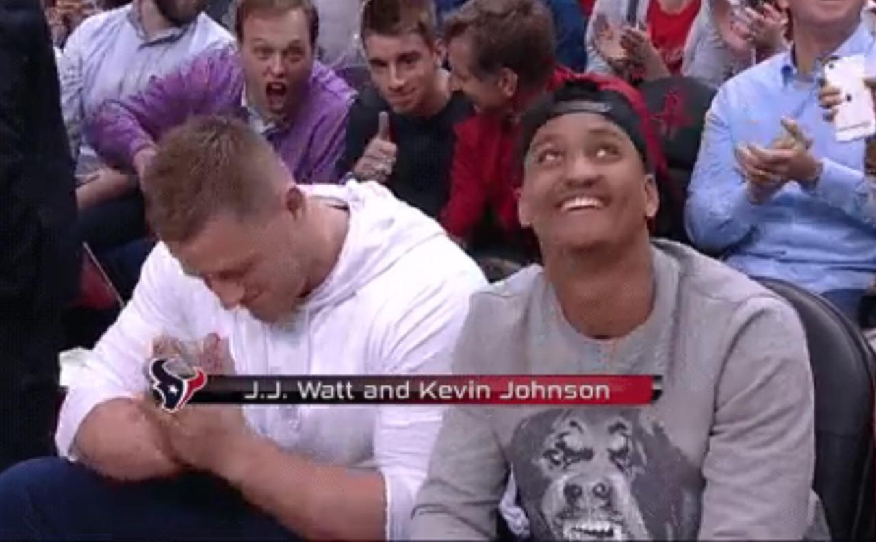 jj99watt - More of JJ at the Rockets game