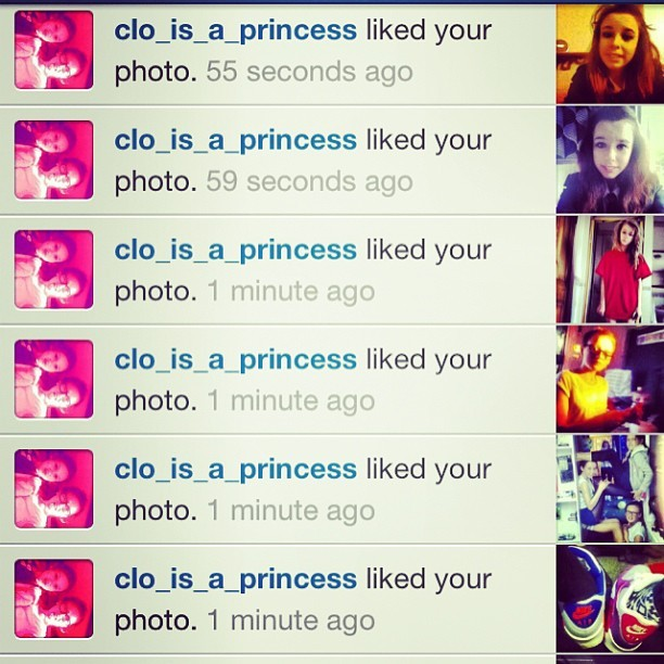 Omg thank youu🙈🙉🙊 @clo_princess
