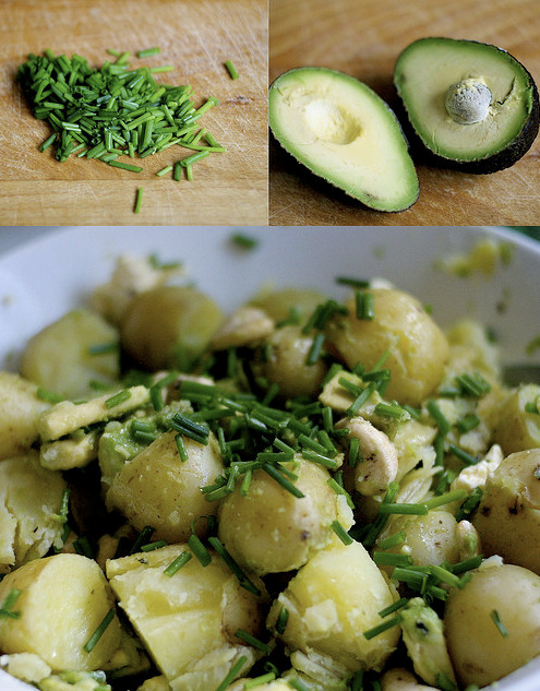 vegan-yums:  easy creamy vegan potato salad by naomi rose